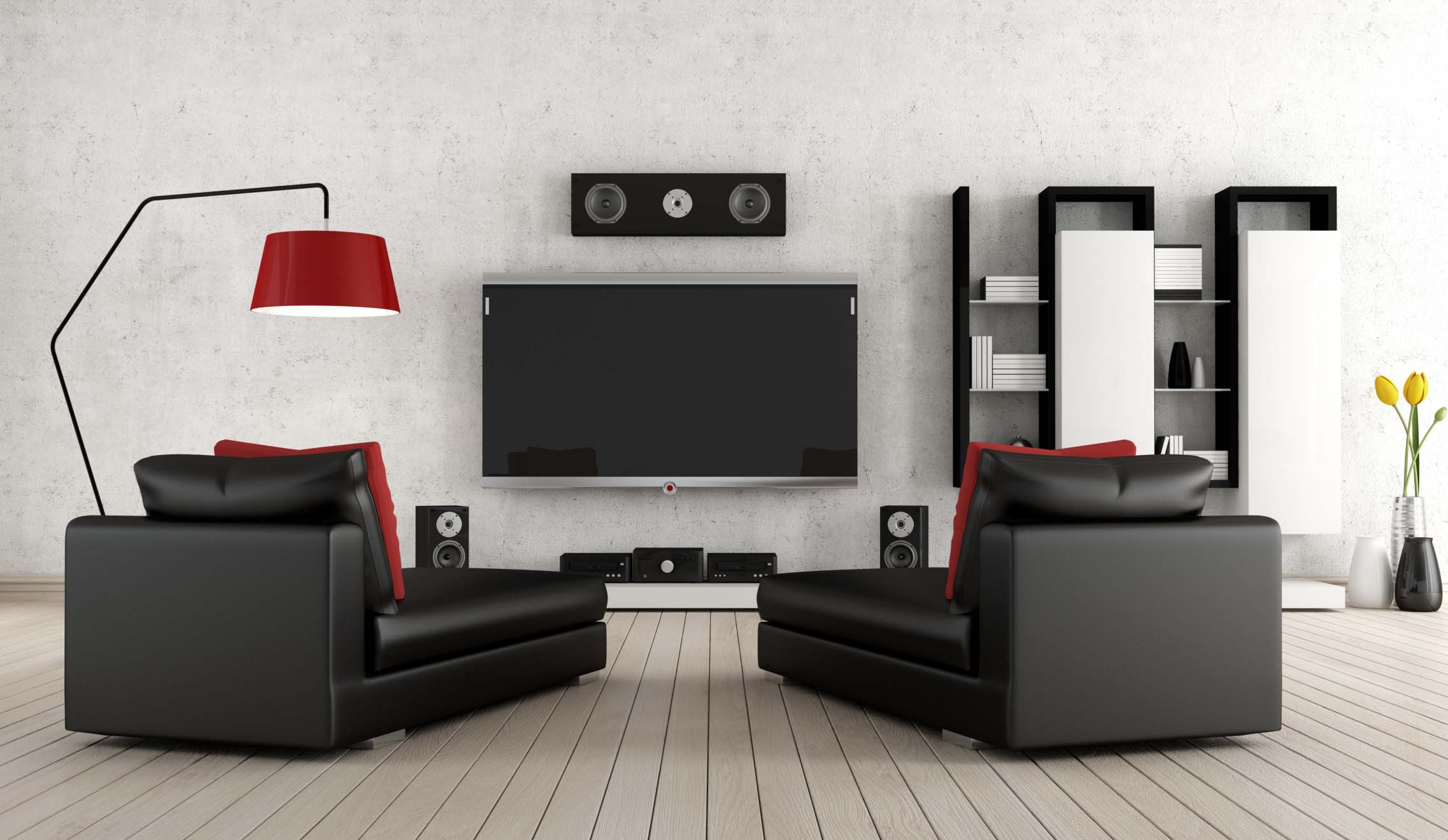transformer votre salon en salle de cin ma franfinance. Black Bedroom Furniture Sets. Home Design Ideas