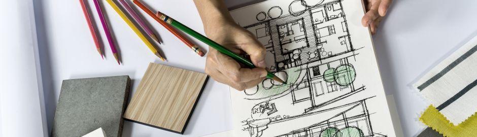 Architecte et ses dessins