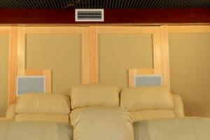 Salle de cinéma chez soi