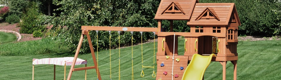 Aménager un espace de jeux dans son jardin – Franfinance