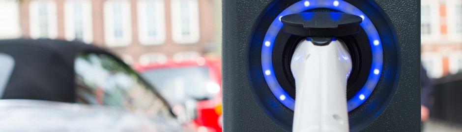 Borne de recharge pour voiture hybride et electrique