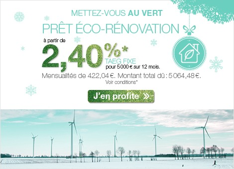 Pret eco Franfinance