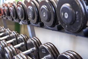 Equipements de musculation : haltères