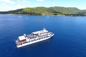 Voyage en croisière sur un bateau
